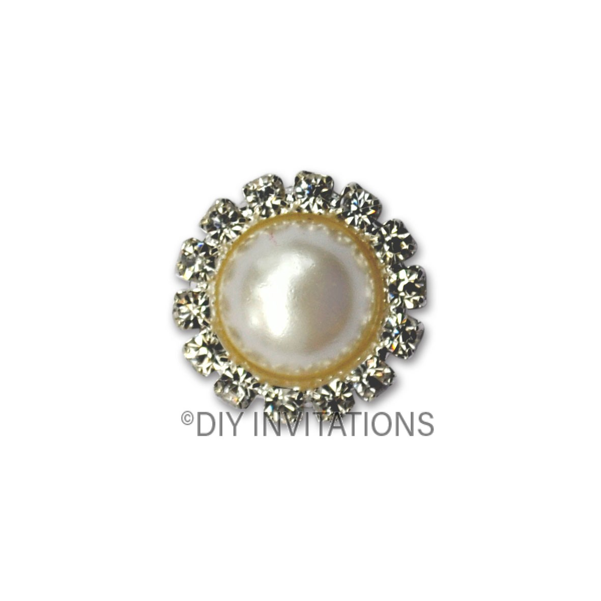 Self Adhesive Round Pearl Cluster