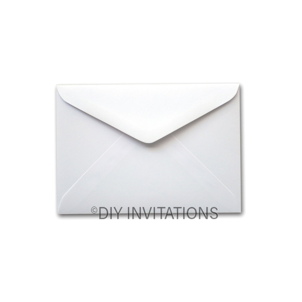 C6 White Linen Envelope (114x162mm)