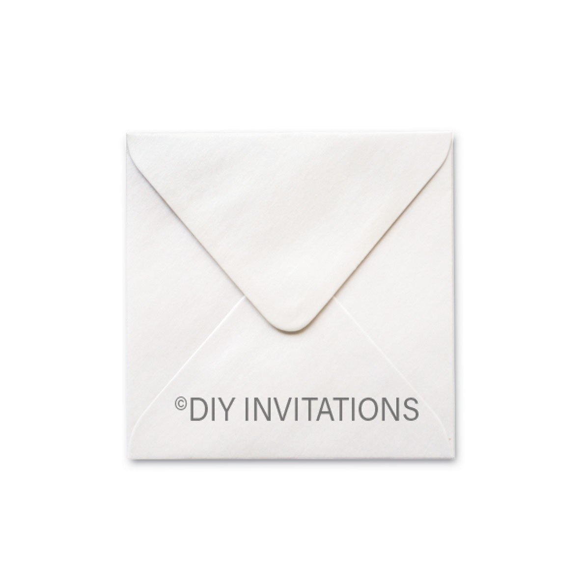 150mm Square Ivory Shimmer Envelope