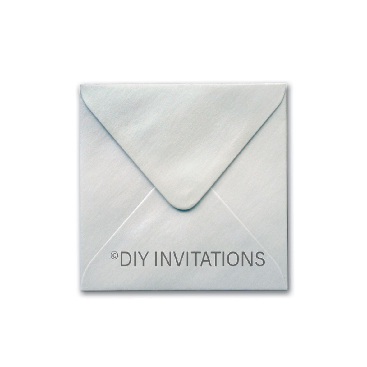 150mm Square StarDream Silver Envelope