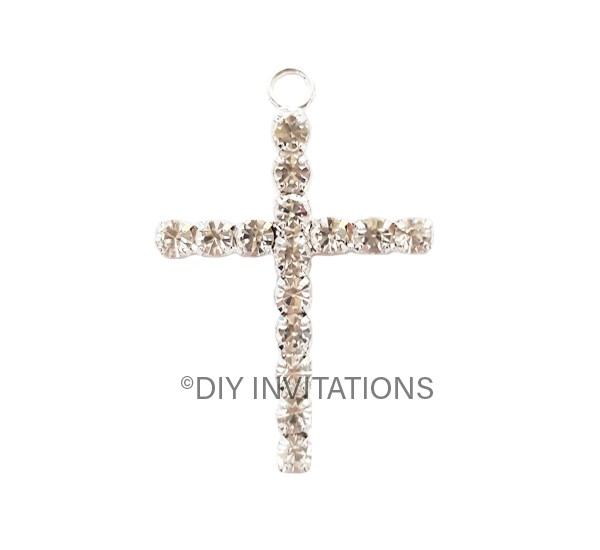 Diamonte Cross Pendant