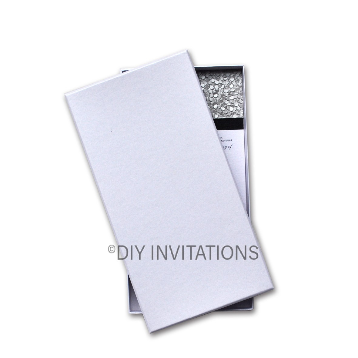 Rigid Invitation Box - DL - S.Dream Crystal (110x220mm)