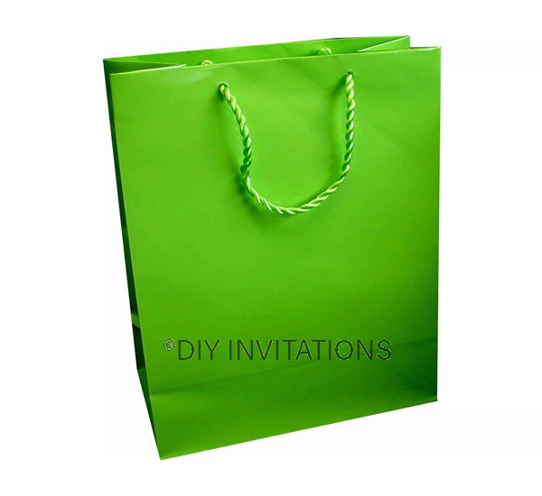 Large Gift Bag (A4) - Lime