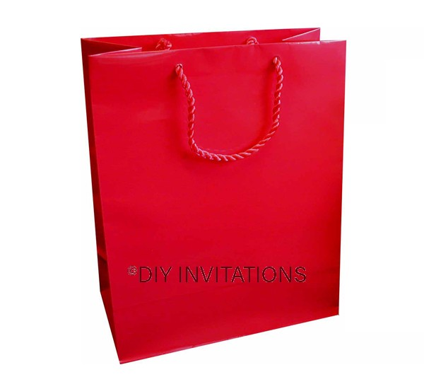 Large Gift Bag (A4) - Red