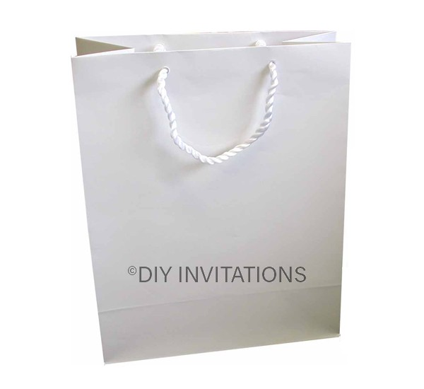Large Gift Bag (A4) - White