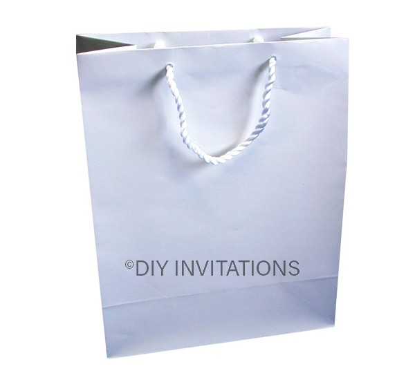 Medium Gift Bag (A5)-White