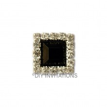Self Adhesive Black Square Cluster