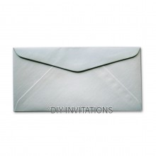 DL StarDream Silver Envelope (110x220mm)