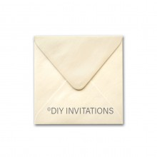 150mm Square Ivory Envelope