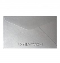 11B StarDream Silver Envelope (90x140 mm)