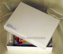 Gift Box Book - White (2 piece lid + base)