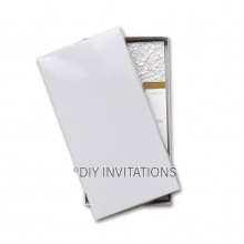 DL Envelope Gift box  - white