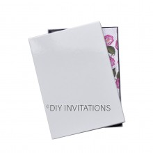 Rigid Invitation Box - A4 - Gloss White (214x301mm)