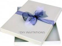Rigid Invitation Box - A5 - Gloss White (151x213mm)
