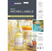 Avery Labels - Textured Arched - 89 x 120.7mm
