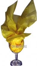 Tissue Paper Pale Yellow