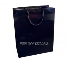 Large Gift Bag (A4) - Black