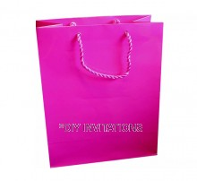 Large Gift Bag (A4) - Hot Pink