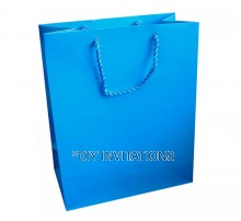 Large Gift Bag (A4) - Sky