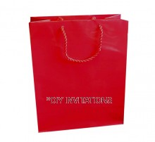 Medium Gift Bag (A5) - Red