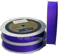 Organza Ribbon Regal Purple Shimmer