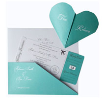 diecut Wedding Invitations